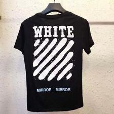 2018 New Men's Unisex T-shirt OFF WHITE C/O VIRGIL ABLOH Cotton Casual T-shirt
