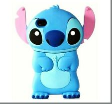 3D Cartoon Character Stitch With Ear Flip Hard Back Case Cover for iPhone 4/4s