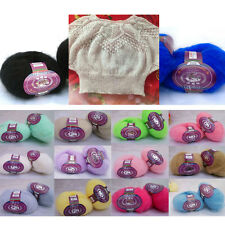 Skein of Soft Angora Mohair Cashmere Wool Knitting Yarn DIY Crocheting Craft TP
