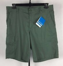 Columbia Dog Lake Cargo Shorts Mens Green NWT (A9)