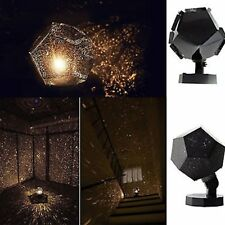 Romatic Cosmos Moon Star Master LED Starry Night Sky Light Lamp For Baby Kids@~
