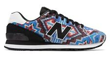 Ricardo Seco x New Balance 574 Blue with Red and Yellow Limited Edition Brand Ne