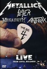 Metallica/Slayer/Megadeth/Anthrax: The Big 4 - Live from Sof (DVD Used Like New)