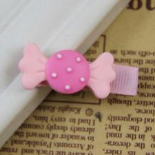 Cute Funny Candy Dot Bowknot Hair Clips Baby Girl Hairpin Child Hair Accessories