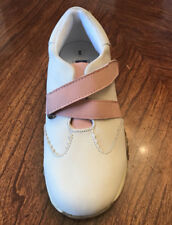 NIB~LAMOUR~L'AMOUR~LEATHER~SNEAKERS/SHOES~PINK/CREAM