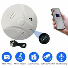 Hidden Camera Smoke Detector Motion Detection Video Recorder Spy Activated DV US