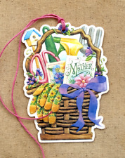 Hang Tags  RETRO MOTHER SEED PACKET GARDEN BASKET TAGS #55 Gift Tags