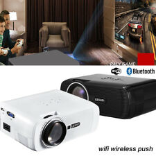 NEW WiFi LED LCD Home Cinema Projector TV Movie HDMI USB VGA Full HD 1080P