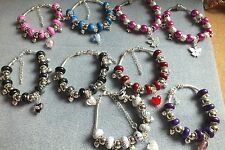 BRACELET TINY HEARTS, GLASS HEARTS AND MORE, CHRISTMAS, BIRTHDAY, PROM AND MORE
