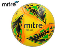 *BRAND NEW* MITRE 2018 - DELTA MAX FOOTBALL - YELLOW/GREEN/BLUE SIZE 5