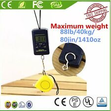 40kg 10g Electronic Hanging Fishing Luggage Pocket Digital Weight Scale UC