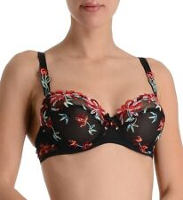 LISE CHARMEL Arty Flower demi-cup bra color Night Floral
