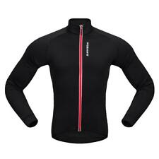 Cycling Jacket Jersey Long Sleeve Mountain Sportswear Cycling Coat Black Red