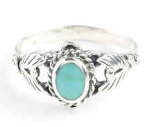 Turquoise Canyon Ring, Sterling Silver Turquoise ring, 925, Boho, Gypsy