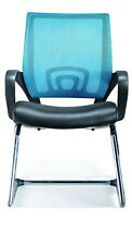 NEW View Mid-Back Mesh Visitor Office Chair