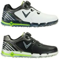 2018 Callaway Mens Xfer Fusion Spikeless BOA Golf Shoes -Waterproof Leather Tour