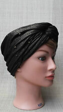 Mimco UPCYCLE TURBAN Hat Fascinator.Available in Black and Silver. BNWT RRP99.95