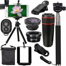 All in 1 Accessories Phone Camera Lens Travel Kit Fr Mobile Smart CellPhone QW