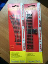 2x Lot Hornby Railways OO LH Points R8072 & Power Track R8206 Packs New & Sealed