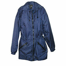 New ShedRain Women's Packable Fashion Bitty Dot Print Anorak Rain Jacket