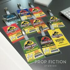Jurassic Park - Prop InGen Security Clip-onID Passes / Cosplay ID Card Badges