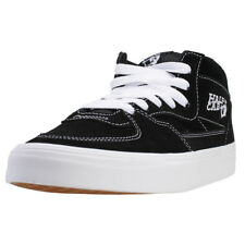 Vans Half Cab Unisex Trainers In Black White New Shoes