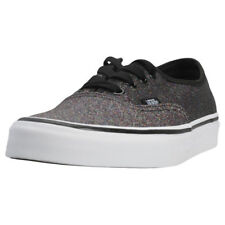 Vans Authentic Glitter Womens Trainers Rainbow Black New Shoes