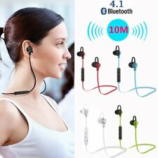 Wireless Bluetooth Earphone Sports Headset Stereo Bass Headphone Mic Handsfree