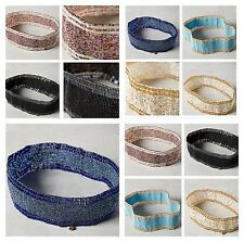 Anthropologie Shira Beaded Belt by Cocobelle NWT Retail $38 + tax