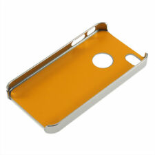 Deluxe Chrome Aluminum Hard Case Cover For iPhone 4/4S #lumu