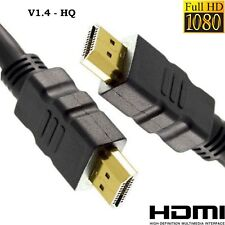 HDMI HD High Speed Cable High Quality Lead 1.4 V1.4 Gold  - SENT TODAY
