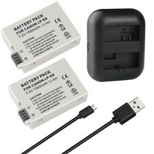 LP-E8 LPE8 Battery Charger for Canon EOS Rebel T2i EOS Rebel T3i Camera