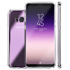Thin Clear Flexible Shockproof TPU Full Cover Case for Samsung Galaxy A8 S9 Plus