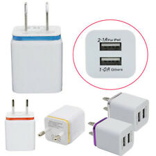 2 Port US/EU Home Travel Dual Port AC USB Wall Charger Dock for iPhone Candid