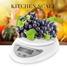 5kg/1g Digital Kitchen Food Scale Weight Balance Electronic Diet Postal Gram FAW