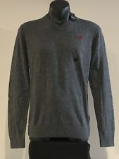 Abercrombie & Fitch Hollister Sweater Men's V Neck Pullover Sweater S Grey NWT