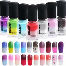 Temperature Color Changing DIY Thermal Nail Polish Peel Off Manicure Tool Nimble