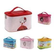 Multifunction Lady Purse Box Travel Makeup Cosmetic Bag Toiletry Case Pouch