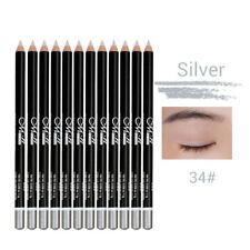 Pro 12pcs Set Shimmer Eyeliner Shadow Makeup Waterproof Eye Lip Liner Pencil