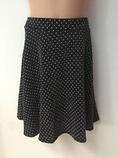 D'Lisle BLACK DOTTED / SPOTTY / SPOTTED SKIRT FOR GIRLS AGES 6 7 9 11 12 YEARS