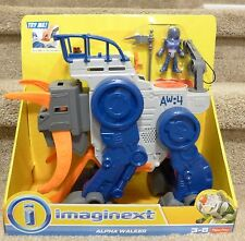 NIB Fisher-Price Imaginext Space Alpha Walker