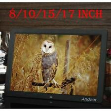 ANDOER 8'' 10'' 15'' 17'' LCD DIGITAL PICTURE PHOTO FRAME ALBUM MP4 PLAYER H1X6