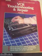 VCR Troubleshooting and Repair Book 2nd Ed by Robert C Brenner Gregory R Capelo