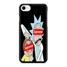 rick and monty supreme 2 iPhone 8 Case For Samsung Google iPod LG Phone Cover