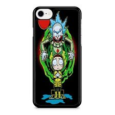rick and morty x pennywise iPhone 8 Case For Samsung Google iPod LG Phone Cover