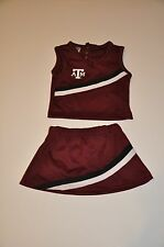 NWOT Texas A&M Aggies Girls Infant Toddler Cheerleader Outfit (12M,2T) Shirt