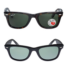 Ray-Ban Polarized Original / New Wayfarer Black / Tortoise 50mm Sunglasses