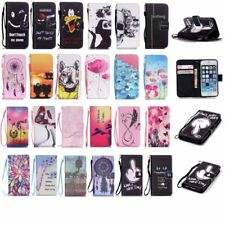 For Samsung S6 Edge S5 Phone Case Protective Stand Flip Card Holder Wallet Cover