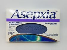 Asepxia Moisturizing Cleansing Bar Soap Acne Treatment Clean Skin Removes Oil