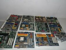 JobLot Scrap/Parts/Salvage Only 11 Motherboards Desktop Computer Main Boards PCB